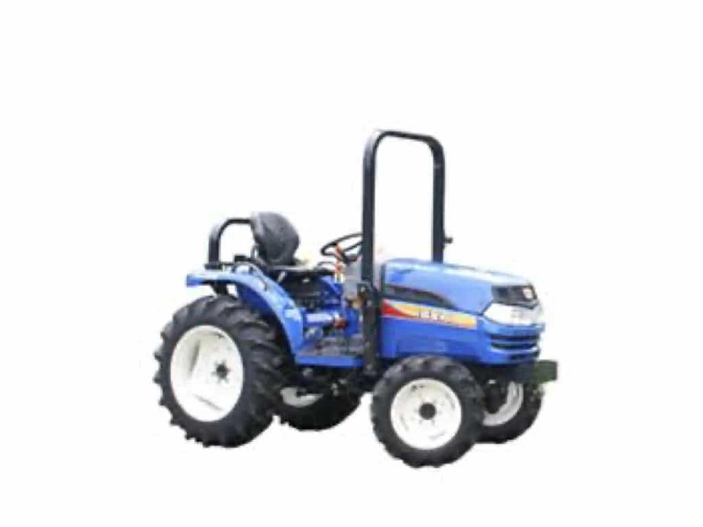 trattore iseki zero branco Treviso agricoltura lato blu