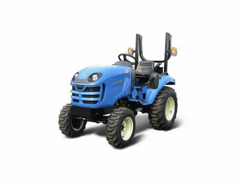 trattore ls tractor zero branco Treviso agricoltura fronte blu